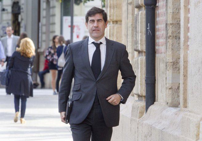Enrique Pérez Boada, acude a declarar en el TSJ en una imagen de...