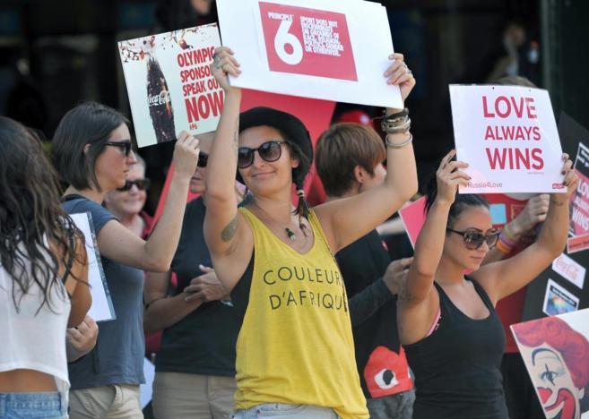 Manifestantes en Melbourne reclaman a los 'sponsors' de las...