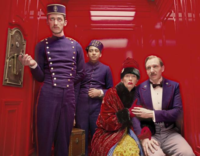 Imagen de la película 'The grand Budapest hotel'.