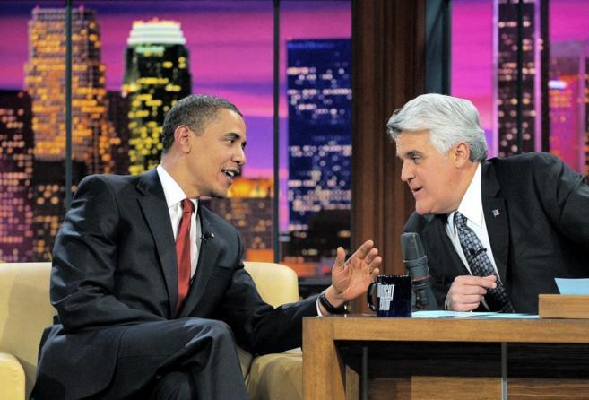 El presidente de los Estados Unidos, Barack Obama, en el programa de...