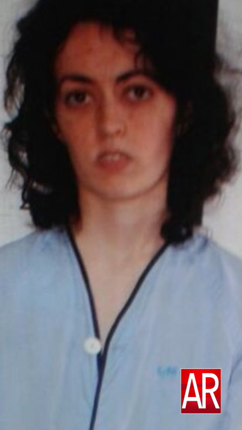 Lorena Gallego con el camisón con el que ingresó en el hospital tras...