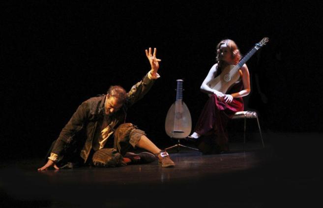 """Jacobo Dicenta durante su interpretación en la obra """"El..."""