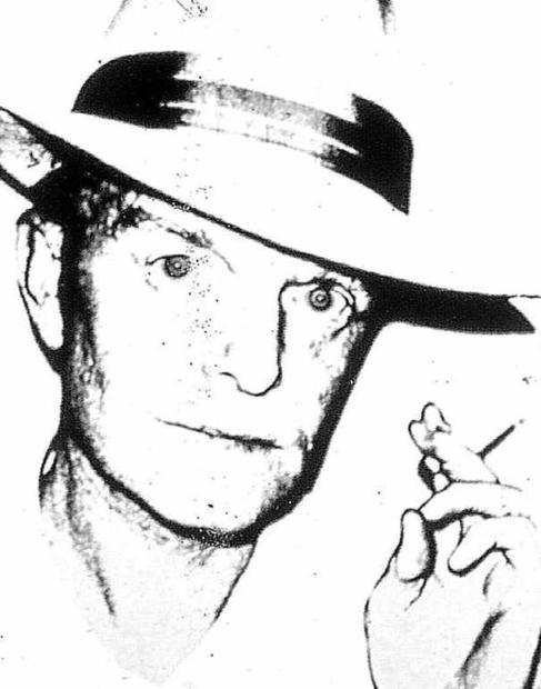 Retrato de Truman Capote por Andy Warhol.