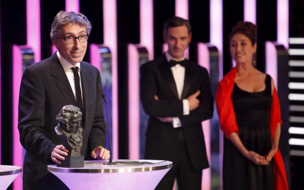 David Trueba se alzó con el galardón a mejor guión original por...