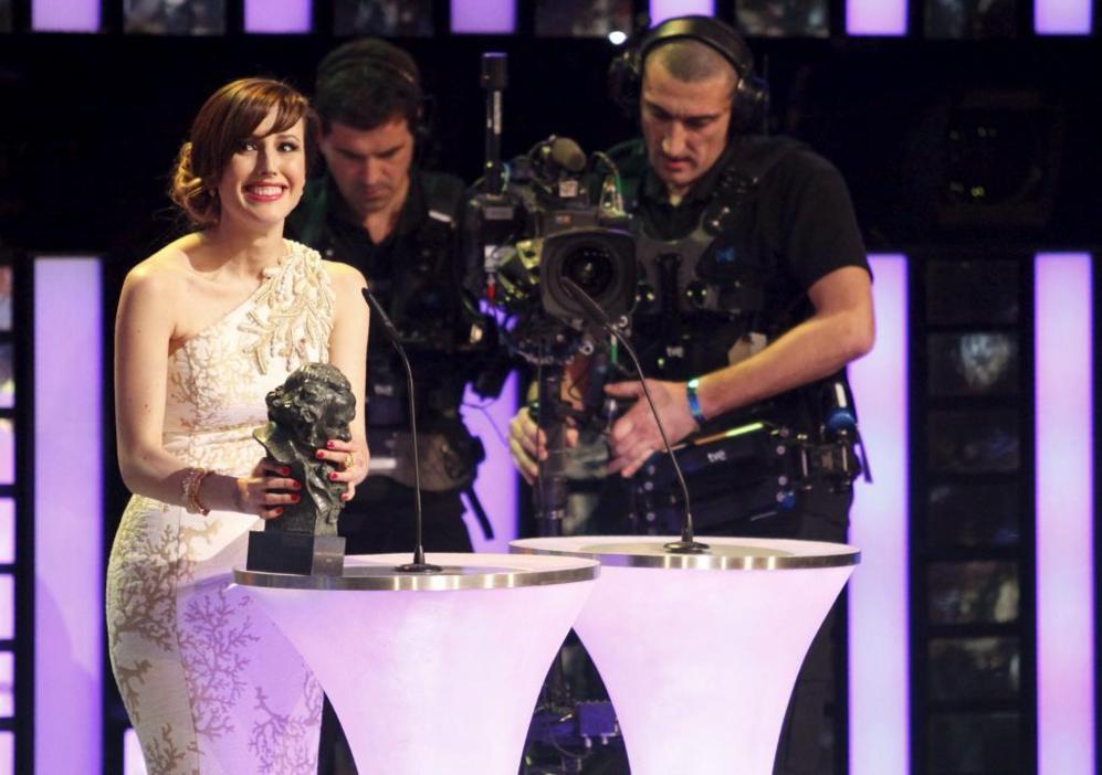 La más joven de las nominadas a mejor actriz revelación se llevó el...