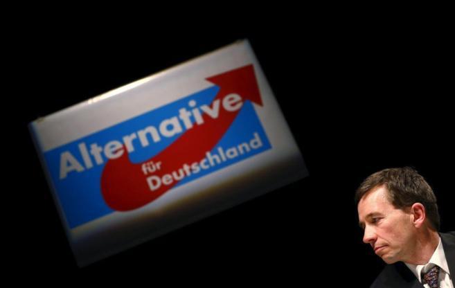 El líder del partido euroescéptico alemán Alternative für...