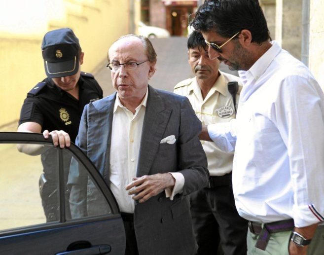 José María Ruiz Mateos, en los juzgados de Mallorca por una presunta...