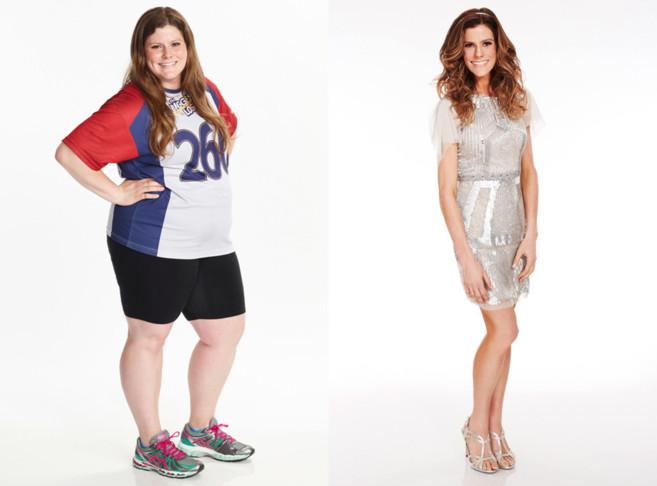Rachel Frederickson, antes y después.