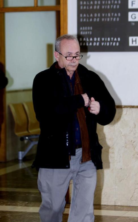 El juez José Castro esta mañana.