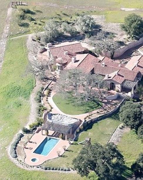 Parte del rancho californiano de Murdoch donde tenían sus encuentros...