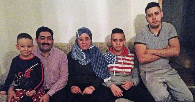 La familia de Said El Kadi que ha ganado al Gobierno alemán en los...