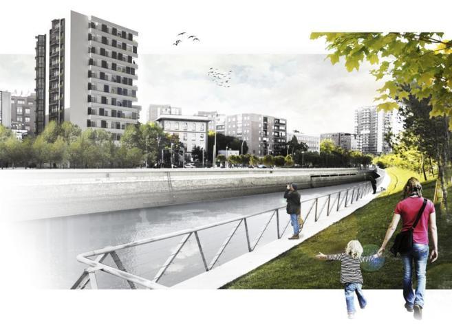 Proyecto de rehabilitación del número 2 de la avenida de Manzanares.