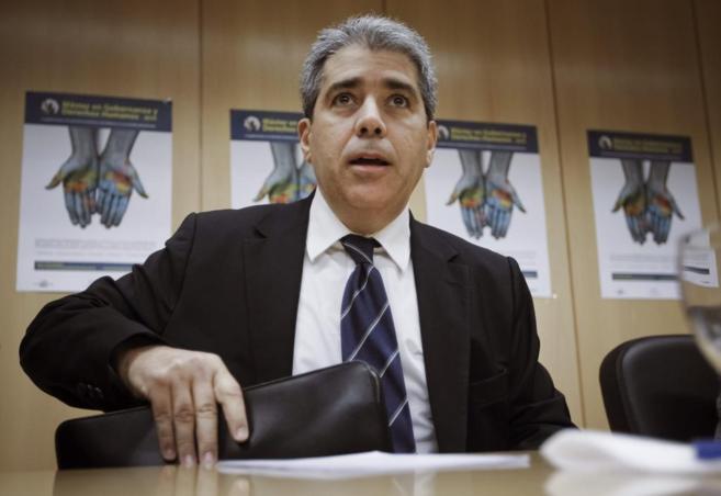 El conseller de Presidencia y portavoz del Gobierno catalán, Francesc...
