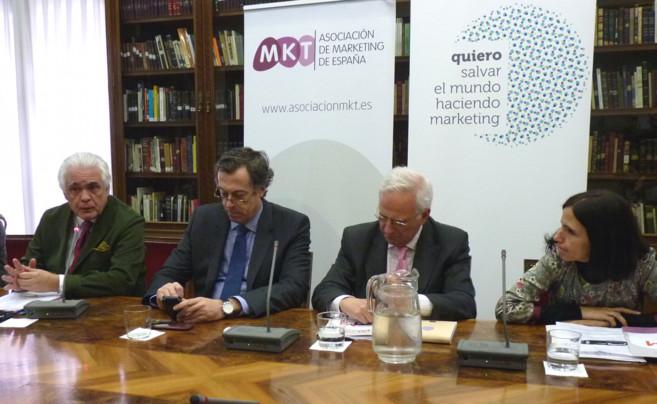 Pedro Aguilar, Joan Fontrodona, Víctor Conde y Sandra Pina.