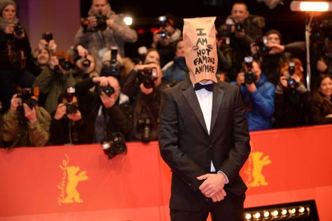 El actor, en la alfombra roja de la Berlinale.