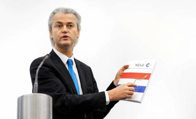 El líder ultraderechista holandés Geert Wilders.