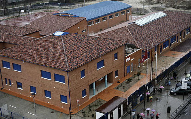 Imagen del colegio de Primaria Ausias March, donde acuden alumnos de...