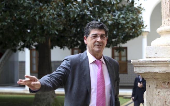 El vicepresidente del Gobierno Andaluz Diego Valderas, este...