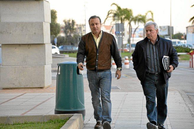 El ex director de la Policía Nacional, Joan Mesquida, antes de la...