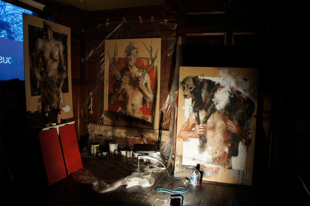 Un antiguo pub de Hackney es la base de operaciones de Gonzalo...