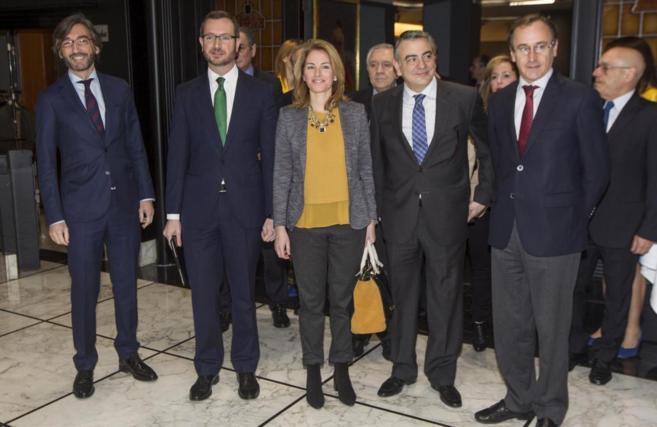 Oyarzábal, Maroto, Quiroga, De Andrés y Alonso, juntos en Bilbao la...