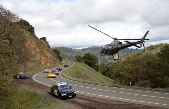 Imagen de la carrera de 'Need for speed' donde participa el...