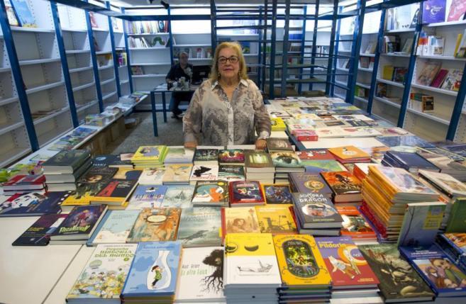 Imagen de la librería Rumor (Madrid), poco antes de cerrar, en 2012.