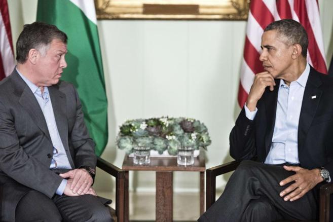 Obama habla con Abdulá de Jordania se reúnen en el rancho Mirage de...