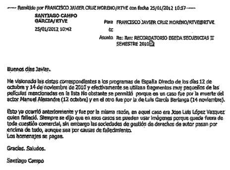 Lo que no se dijo en los Goya: los pagos de RTVE a la SGAE