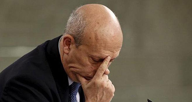 El ministo de Educación, Cultura y Deporte, Ignacio Wert, tras el...