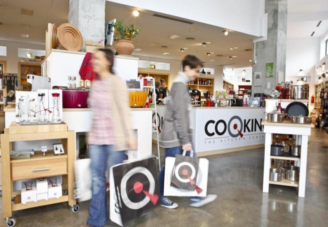 Tienda de menaje Cooking, en la calle Serrano.