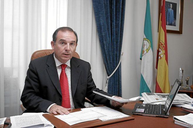 El alcalde de Vélez Málaga, Francisco Delgado Bonilla.