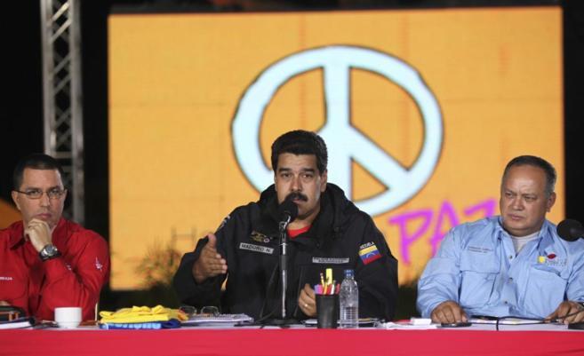 Nicolás Maduro, durante una intervención reciente.