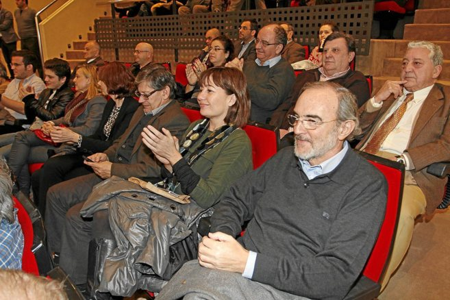 Antoni Diéguez, Armengol, Vicenç Thomàs y Biel Oliver en la...