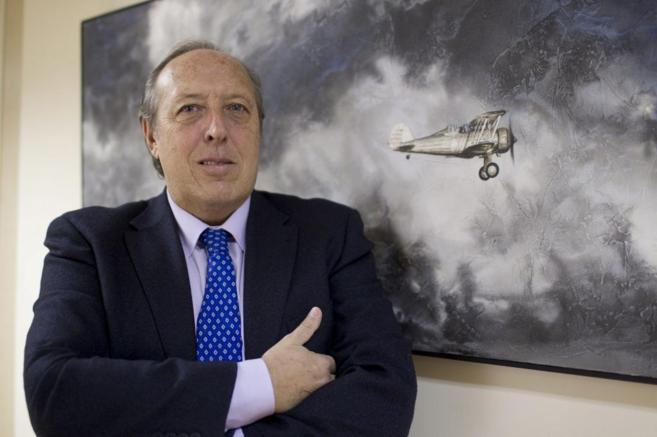 El jefe de la sección sindical de pilotos de Iberia, Justo Peral.