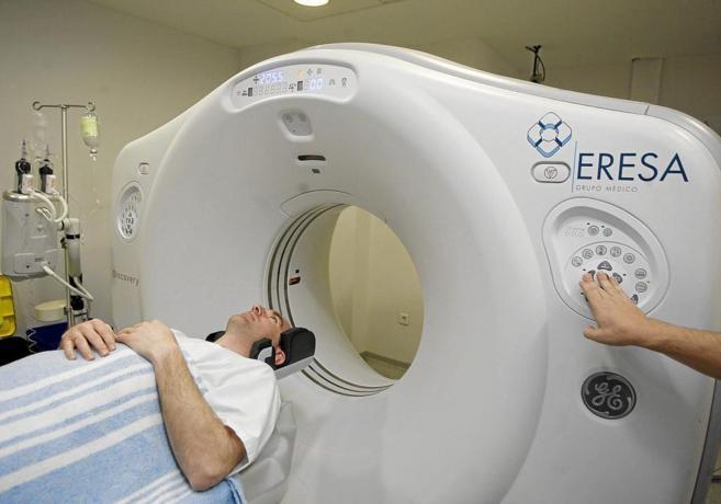 Tomografía axial computerizada