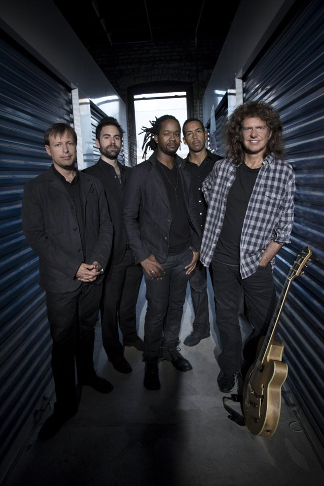 Pat Metheny con los músicos de la Unit Band.