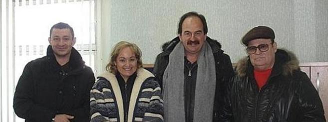 Andrei Petrov, Pilar Gimeno, Xavier Crespo y Viktor Kanaikine en el...