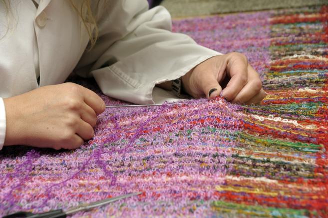 Vea las imágenes de las mantas Ezcaray.