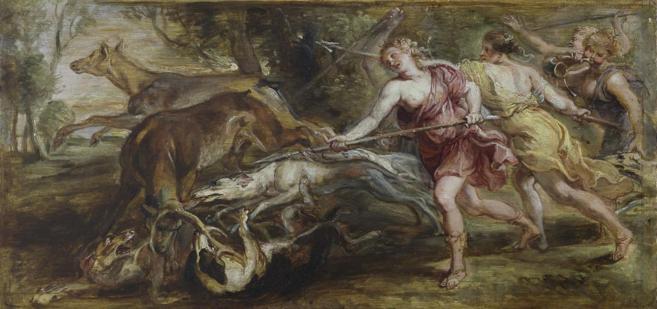 'Diana y sus ninfas cazando', de Rubens.