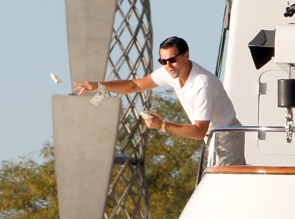 Fotograma del filme 'El Lobo de Wall Street'.