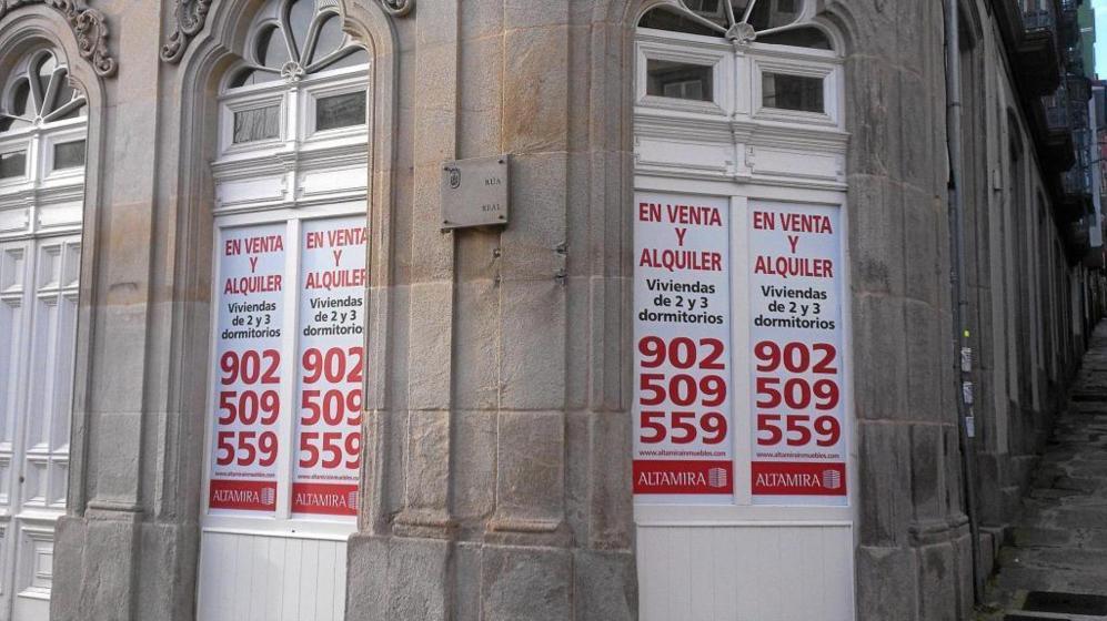 Viviendas en comercialización de la filial inmobiliaria de Banco...