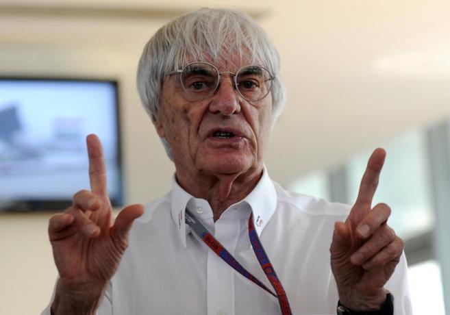 Bernie Ecclestone en una imagen tomada en octubre de 2012.