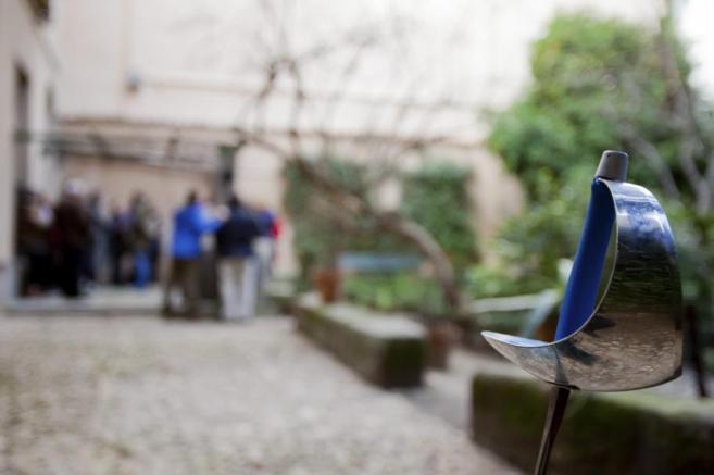 Jardín de la Casa Museo de Lope de Vega, en Madrid. [VEA MÁS...