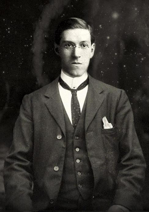 Imagen del escritor de terror y ciencia-ficción H. P. Lovecraft.