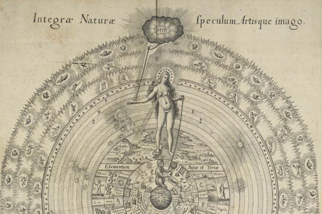 La 'Gran Cadena del Ser' (1617), ilustración de Robert...