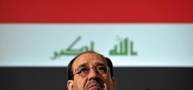 El primer ministro iraquí, Nuri Al-Maliki.