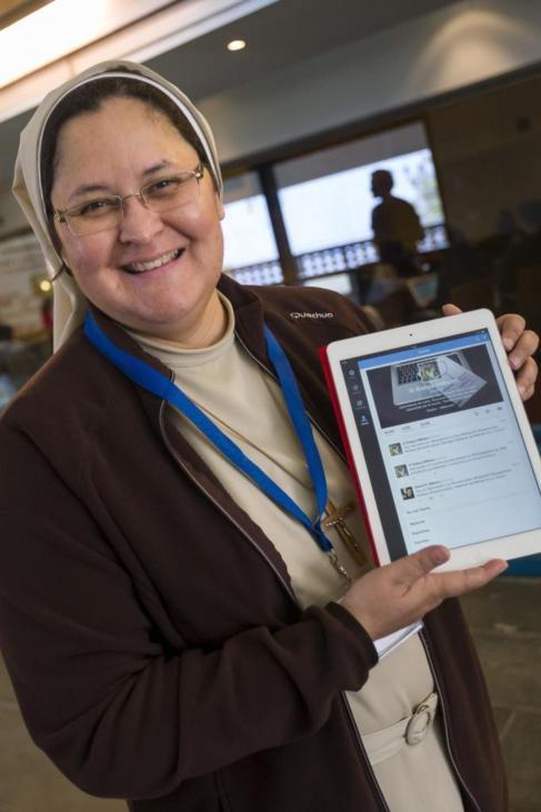 La filóloga, religiosa y periodista, Xiskya Valladares.