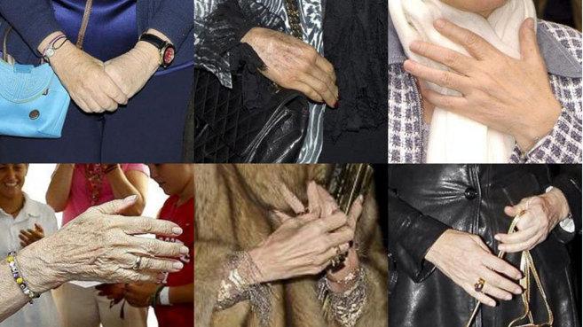 ¿Sabe de qué famosas son estas manos? Al final del texto, la...