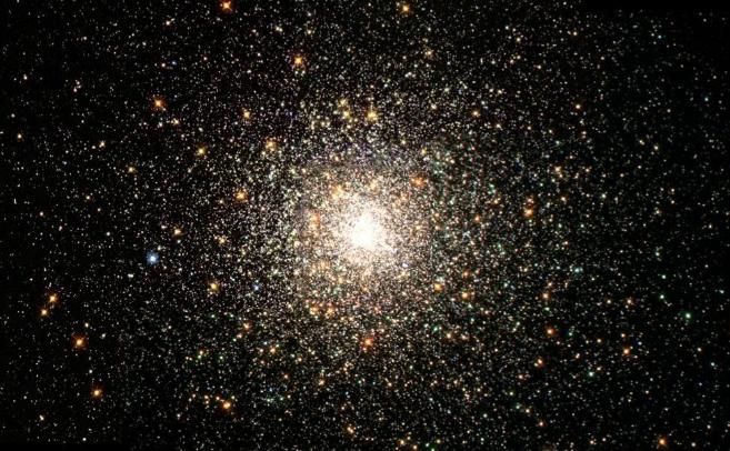 Un cúmulo de estrellas antiguas en la Vía Láctea.